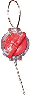 Acrylic and Stainless Steel Tool-Free Wire Seals, Red 12