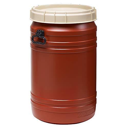 Superweithalsfass 75l - Inhalt 75 Liter - Fass Kunststofffass Rundfass Standfass Weithalstonne Tonne