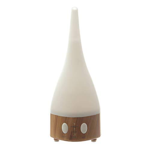 Diffusore elettrico di aromi in abs, da 100 ml Bianco Finitura Legno