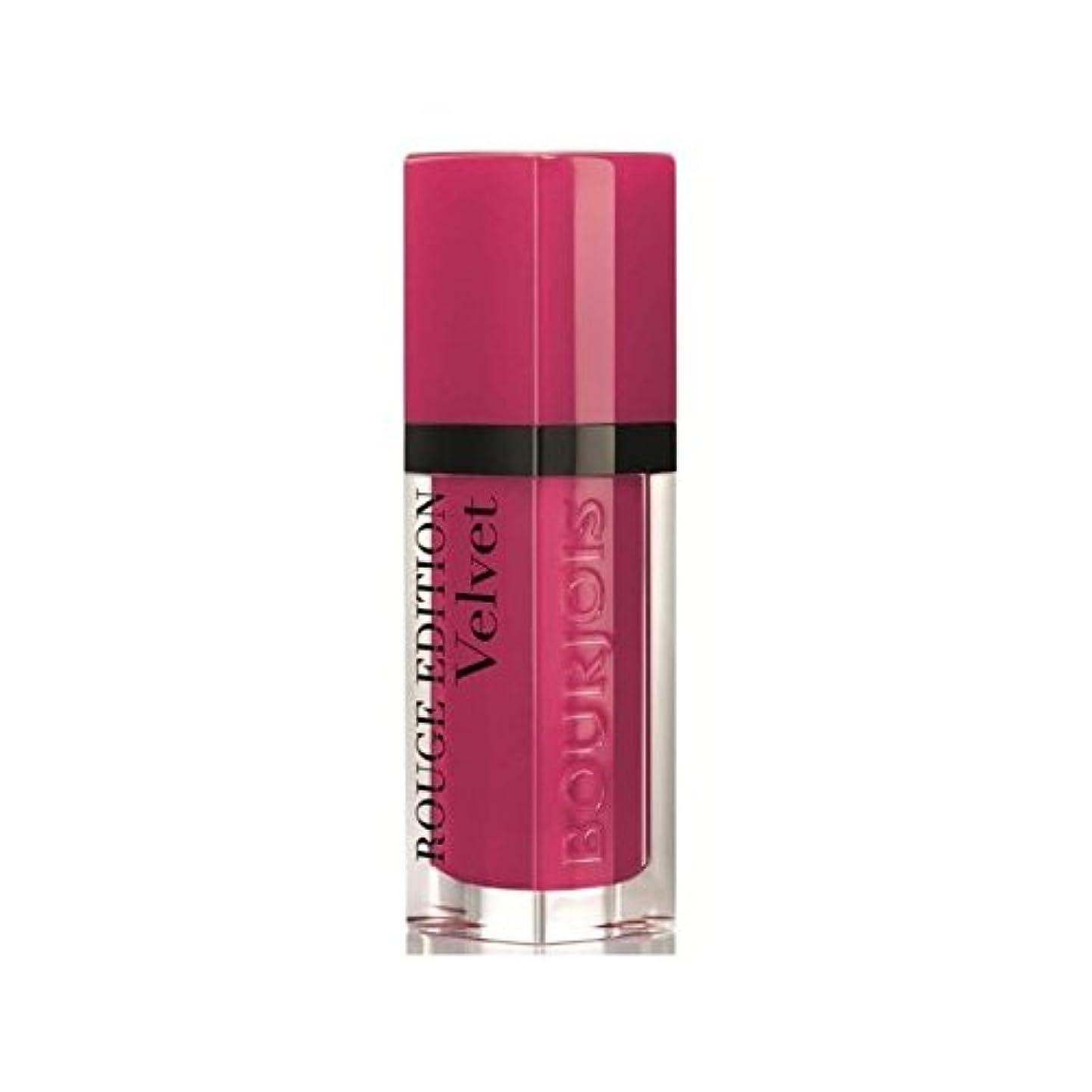 自信がある嵐が丘スカルクブルジョワルージュ版のベルベットの口紅フラミンゴ5 x4 - Bourjois Rouge Edition Velvet lipstick Ole Flamingo 5 (Pack of 4) [並行輸入品]