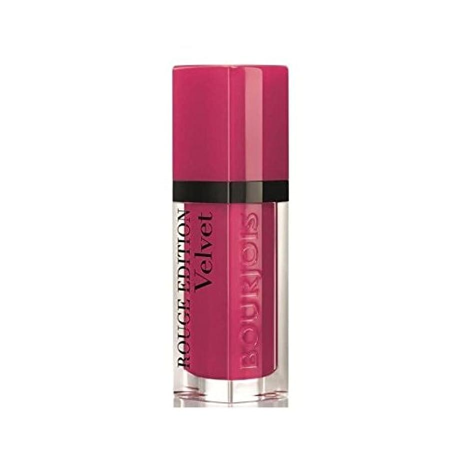 きれいに民族主義ブレークBourjois Rouge Edition Velvet lipstick Ole Flamingo 5 (Pack of 6) - ブルジョワルージュ版のベルベットの口紅フラミンゴ5 x6 [並行輸入品]