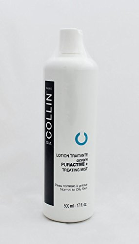 GM G.M. COLLIN LOTION TRAITRANTE OXYGEN PURACTIVE + TREATING LOTION NORMAL TO OILY SKIN 500ml - 17fl oz by G.M. Collin