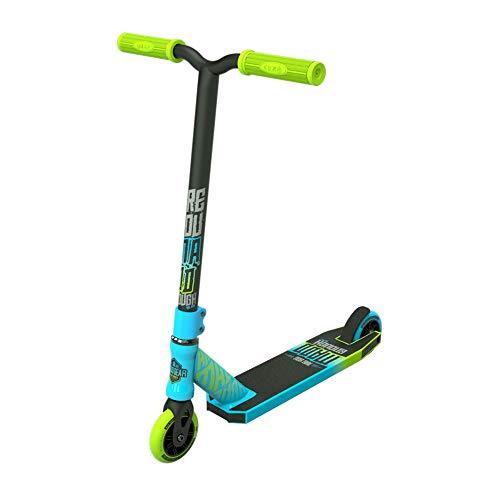 MADD Unisex Jugend Kick Rascal Scooter, blau/grün, 76,2 cm