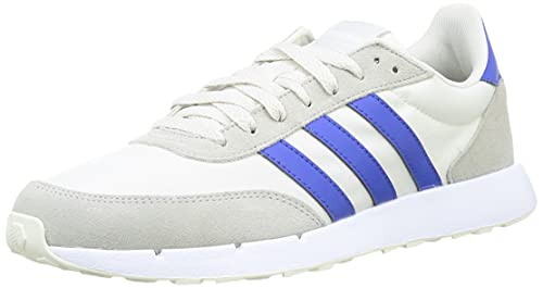 adidas Run 60S 2.0, Road Running Shoe Hombre, Griorb Azurea Grimet, 44 EU