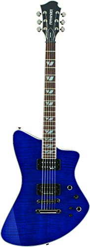 GUITARRA FERNANDES VERTIGO ELITE 04 SEE-THRU BLUE