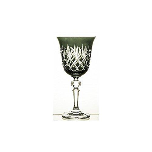 Weinglas Weinkelch Römer Glas Black Ananas 220 ml Handgeschliffen Kristallglas