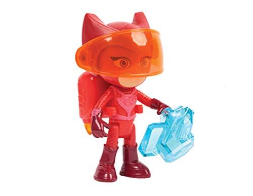 PJ Masks-95167 Set Figuras Buhito, Multicolor (Bandai 95167)