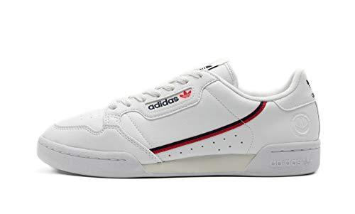 adidas Continental 80 Vega, Zapatillas de Running para Hombre, Ftwwht Conavy Scarle, 44 EU