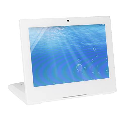 Pantalla Inteligente HD, Marcos de Fotos Digitales con Control táctil de Alta resolución en Color Blanco con Pantalla Inteligente IPS HD de 10,1 Pulgadas, con Interfaz Multifuncional(EU)