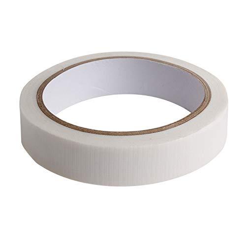 ZZALLL Duct Ruban de Tissu de réparation Auto-adhésif étanche pour Reliure de Livres - Blanc