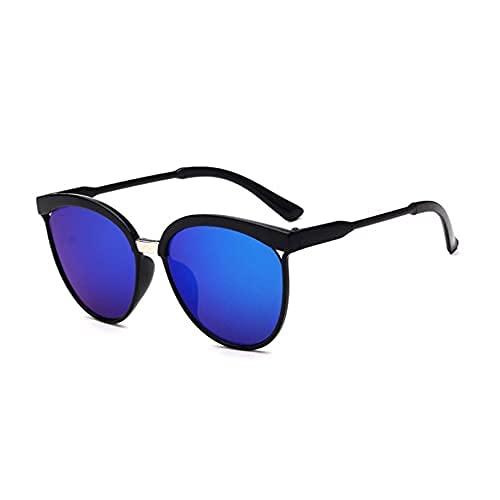 Gafas de sol clásicas para hombre y mujer, de metal, multicolor, protección UV400, deportes al aire libre, golf, ciclismo, pesca, senderismo, gafas de sol unisex (C)