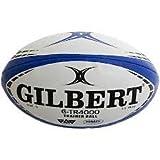 Gilbert ギルバート G-TR4000 Trainer Ball トレーニング ラグビーボール (青×黒(ブルー/ブラック), 5号(高校生/社会人)) [並行輸入品]