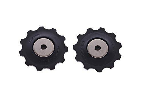 SHIMANO 2095210500 Spann- Und Leitrolle, schwarz, 10 x 10 x 10 cm