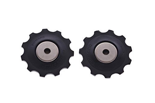 SHIMANO Unisex's RD-5700 TENSION & HUIDE PULLEY SET, BLACK, only size