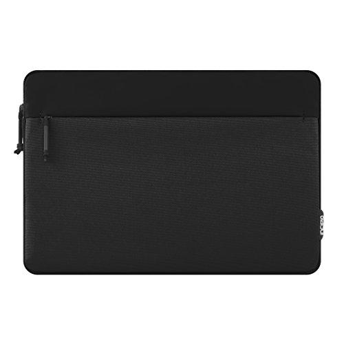 Incipio Custodia per Microsoft Surface PRO 4–Certificata da Microsoft Truman [Tipo Cover Compatibile | Tasca Porta Pennino in Nylon Imbottita/Disponibile in Vari Colori Nero Nero