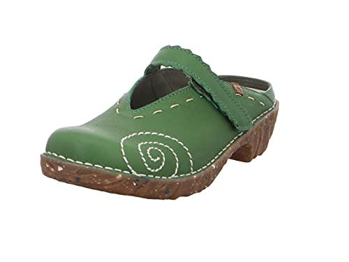 El Naturalista Mujer Zuecos Yggdrasil, señora Zuecos,Plantilla Desmontable,Zuecos de Verano,Zapatos Casuales,Pantuflas,Selva,39 EU / 6 UK