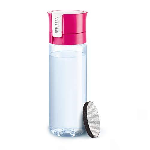 Bobble BPA-Free 550 ml, sin BPA Color Rosa Botella de Agua con Filtro Integrado