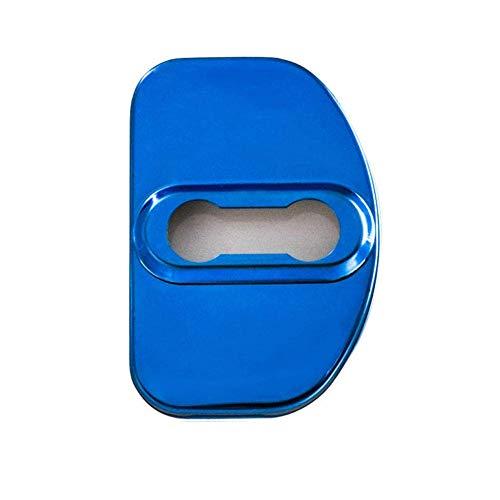 SDJKH Cubierta De Protección De Cerradura De Puerta De Coche, Cubierta Decorativa con Hebilla De Bloqueo, para Audi S Line A1 A3 A4 A4L A5 A6L A8 TT Q7 Q5