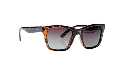 INVU Polarisierte Sonnenbrille K 2421 A Braun Gläser 100% UV Block Sunglasses Polarized