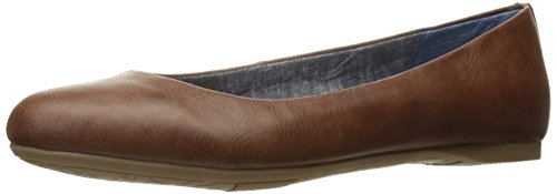 Dr. Scholl's Shoes Women's Giorgie Flat, Whiskey, 8.5 M US
