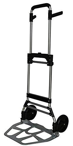 Pavo 8001040 Faltbare Sackkarre/Klappbare Transport-Handkarre kompakt & robust - Max. 120 kg