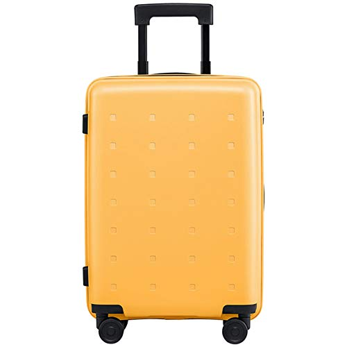 N / C Suitcase, Pp Material, Fully Lined Compartment Mesh Zipper Bag, Strong Waterproof Performance, Wear-Resistant Texture Design