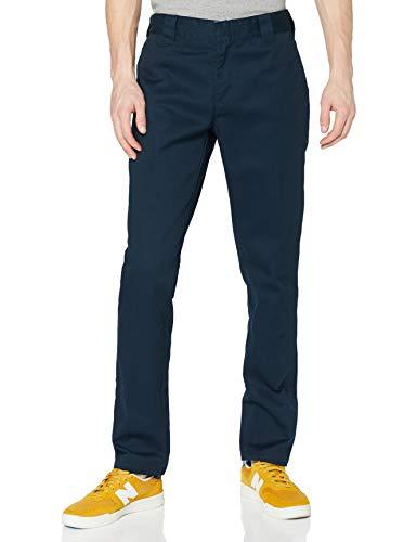 Dickies Herren Hose Slim Fit Work, Blau (Dark Navy), Herstellergröße: 34/34