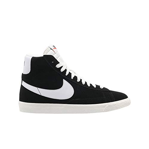 Nike Blazer Mid GS Scarpa Bambino - Sintetico Nero Size: 40 EU