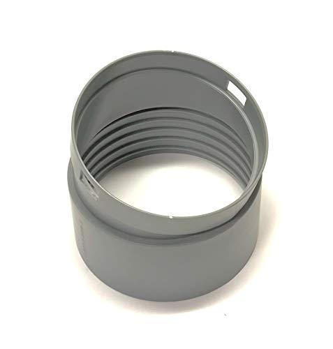 OEM Haier Air Conditioner AC Exhaust Hose Connector Originally For Haier HPN12XCM, HPN12XHM, CPN12XH9E, CPN12XC9, CPN12XC9E