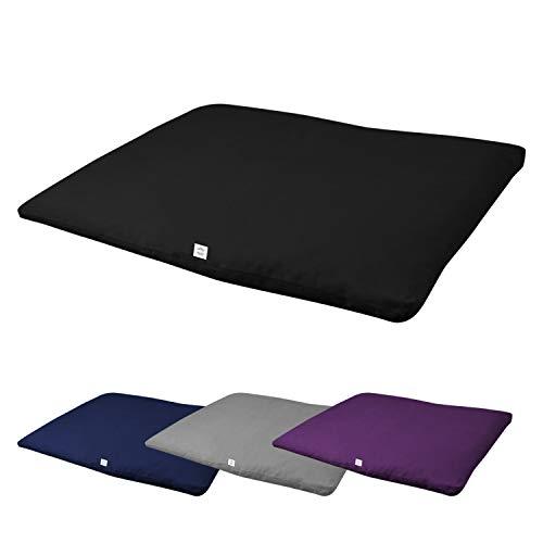 Vivezen ® Zabuton, tapis de méditation, yoga - 70 x 90 x 4 cm - 4 coloris - Norme CE