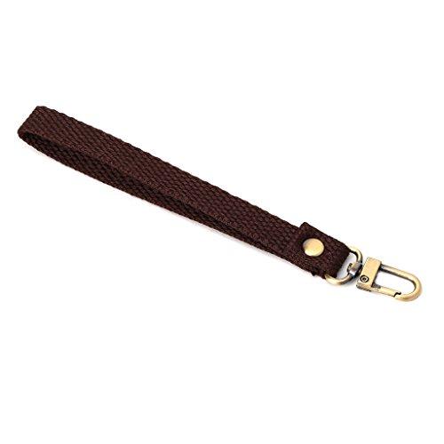 FURU (Wristlet Poignet Sangle de Sac à Main d'embrayage Sac à Main Sac à Main Support de Remplacement avec Fermoir Doré, DCF