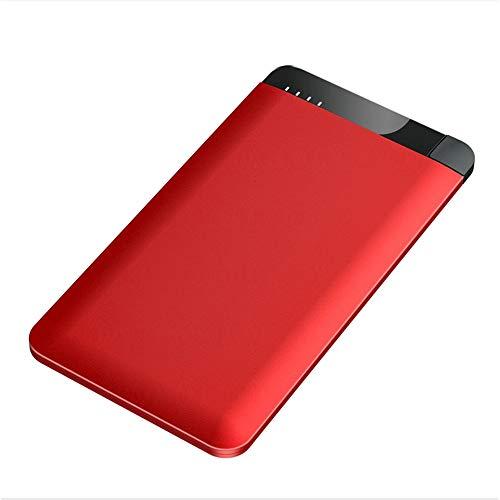 GWX draagbare mobiele stroomvoorziening, 4000 mAh externe accu, met iPhone-aansluiting, compatibel met smartphones, tablets enz.
