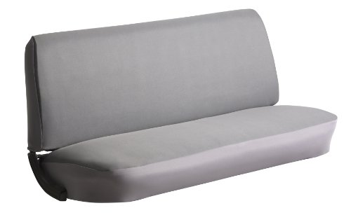 FIA SP84 GRAY Universal Fit Truck Bench Seat Cover (Gray)