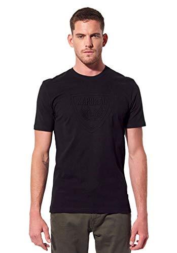 KAPORAL Raven T-Shirt, Nero, S Uomo