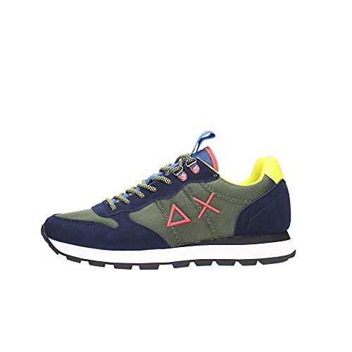 Sun68 Sneakers Uomo Militare Z41108 7407