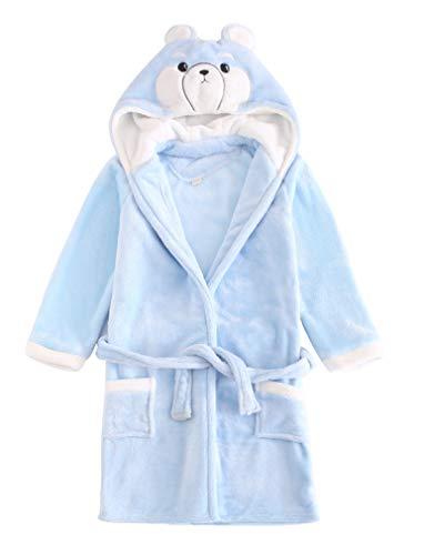 ABClothing Albornoz Infantil 100% de algodón para niños