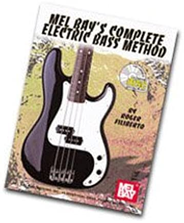 Mel Bay complete Electric Bass Method Book & CD