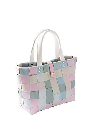 Kobolo Tasche Einkaufstasche Einkaufskorb Kunststoff Shopper Lockardi Candy SMALL