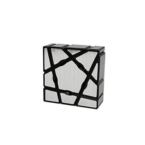 Ludokubo Cubo Floppy 3x3x1 Ghost Color Plateado