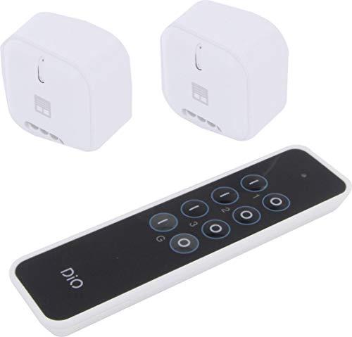 DIO set met 2 modules voor rolluiken met afstandsbediening 54852