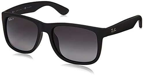 Ray-Ban 0RB4165F-55-622-T3 Gafas, Black Rubber Polar Gray Gradient, Talla Única Para Todos Los Adultos Unisex De Ee. Uu. para Hombre