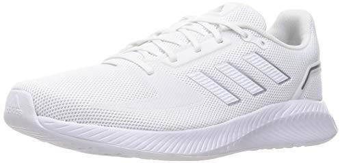 adidas RUNFALCON 2.0, Zapatillas de Running Hombre, FTWBLA/FTWBLA/Plamet, 42 EU