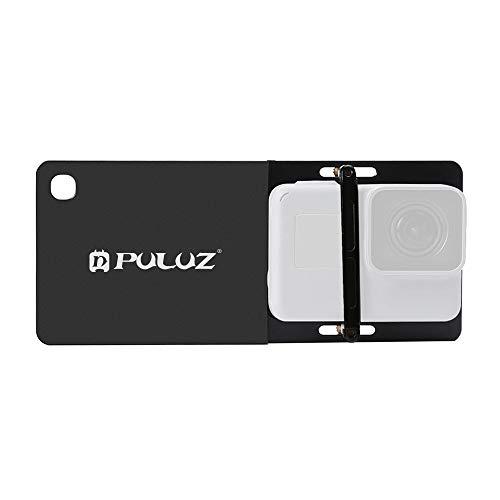PULUZ – Placa de suporte para GoPro Hero 8, preta, Nota: não é aplicável ao estabilizador portátil DJI OSMO Mobile 3