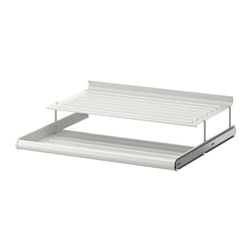 Ikea KOMPLEMENT - Zapatero extraíble, color blanco