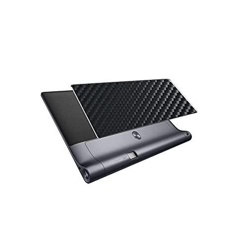 VacFun 2 Piezas Protector de pantalla Posterior, compatible con Lenovo YOGA Tab 3 Pro 10 10.1' YT3-X90F, Película de Trasera de Fibra de carbono negra Skin Piel