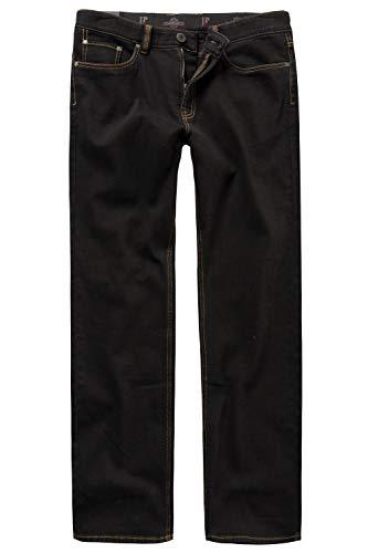 JP 1880 Herren große Größen bis 66, Jeans, Denim-Hose im 5-Pocket-Style, Stretch-Komfort, elastischer Bund & Regular Fit Black 62 708067 11-62