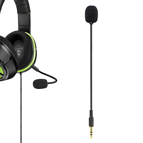 Replacement Microphone 3.5mm Removable Mic Boom for Xbox One / PS4 / Nintendo Switch/PC Computer Gaming Headset - Turtle Beach Ear Force XO ONE Stealth 420X Recon 320 Z60