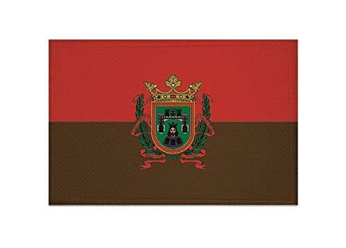 U24 Aufnäher Burgos Spanien Fahne Flagge Aufbügler Patch 9 x 6 cm