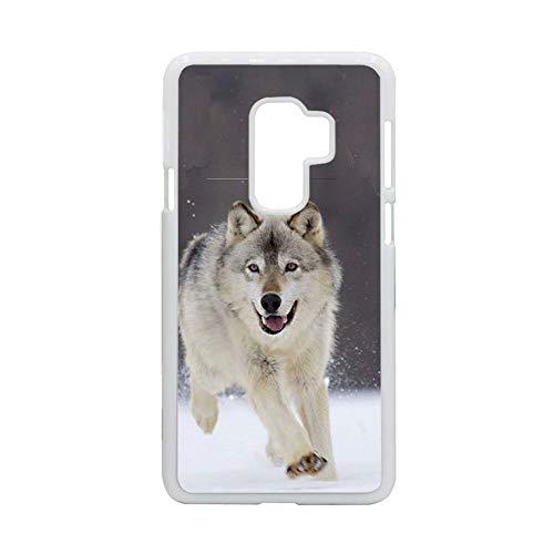 Tener Siberian Husky 5 Raro Chicas Compatible con Samsung S 9 Cajas Rígidas Rígidas del Teléfono De Plástico