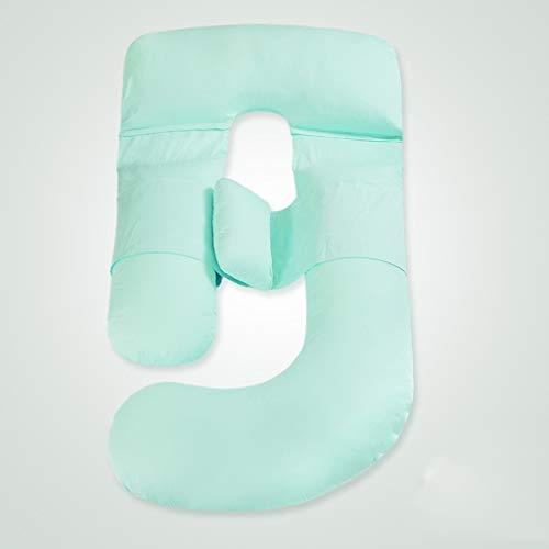 Almohada De Embarazo De Cuerpo Completo Y Almohada De Maternidad Con Funda Reemplazable Y Lavable Dormir Lateral De La Cintura Estómago En Forma De U C
